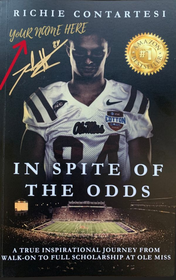 In Spite of the Odds Front Signed