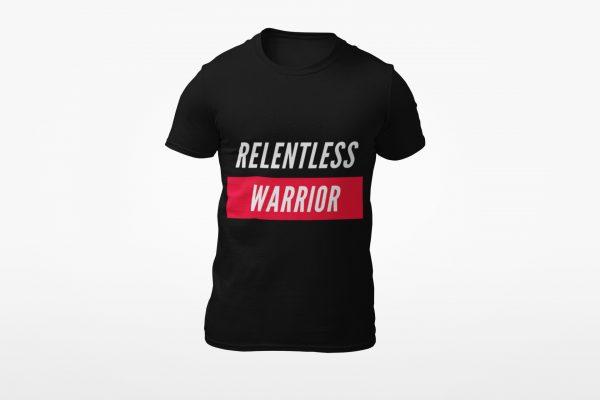 Relentless Warrior Black/Red Shirt
