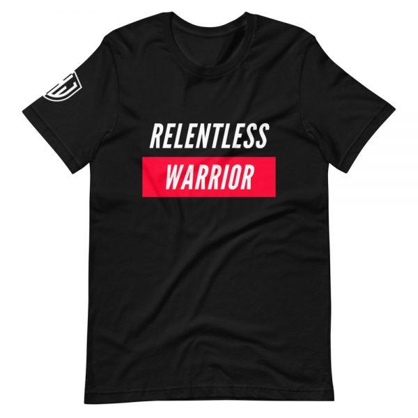 Relentless Warrior Black/Red Shirt 1